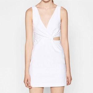 NWOT ZARA white Mini Dress! Never worn